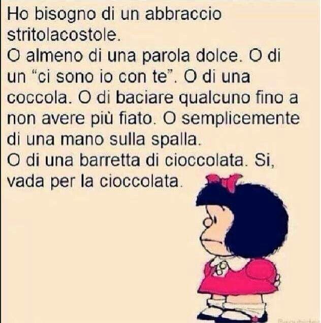 la cioccolata fa miracoli - Mafalda