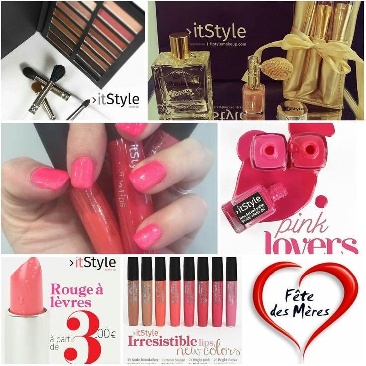 #itStylemakeup Plein d'idées cadeaux #fêtesdesmères vous attendent dans votre boutique #itStyle #parfums #mascara #vernis #prestations #crèmesbtx  et des #rougesàlèvres à partir de 3€ jusqu'au 31 #MAI #maquillage #makeup #cosmetique #cosmetics #beauté #mode