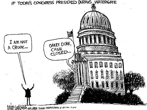 Bildergebnis für watergate scandal political cartoon