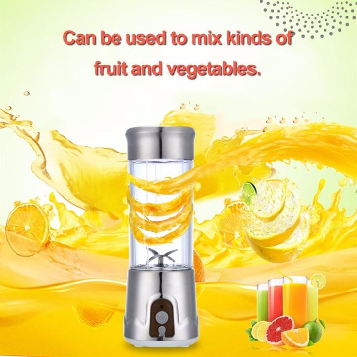 High Power USB Rechargeable Portable Blender (380ml)