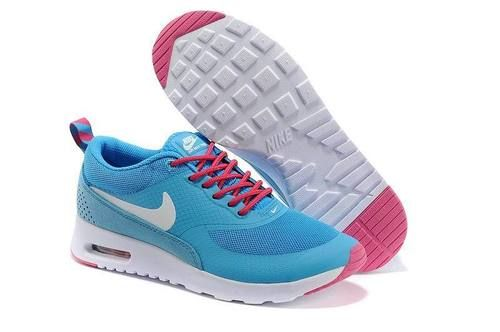 Nike Air Max Thea Womens Blue Red White