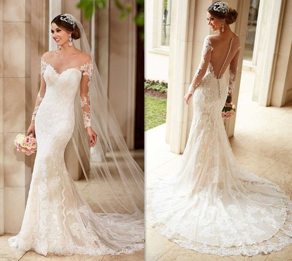 12 best vestidos novia images on Pinterest | Short wedding gowns ...
