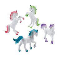 Unicorn Figures Party Favours