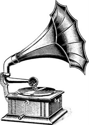 Thomas Edison Invents The Phonograph Record Player