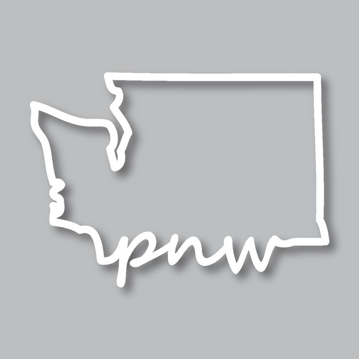 Our Washington Outline PNW Diecut is a perfect way to show your Pacific Northwest pride! These make great gifts! They are available along with our other Pacific Northwest goods at www.stickersnorthwest.com