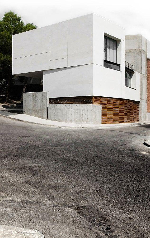 Civil Defense Center in Cobeña, Madrid, Spain | GEA Arquitectos