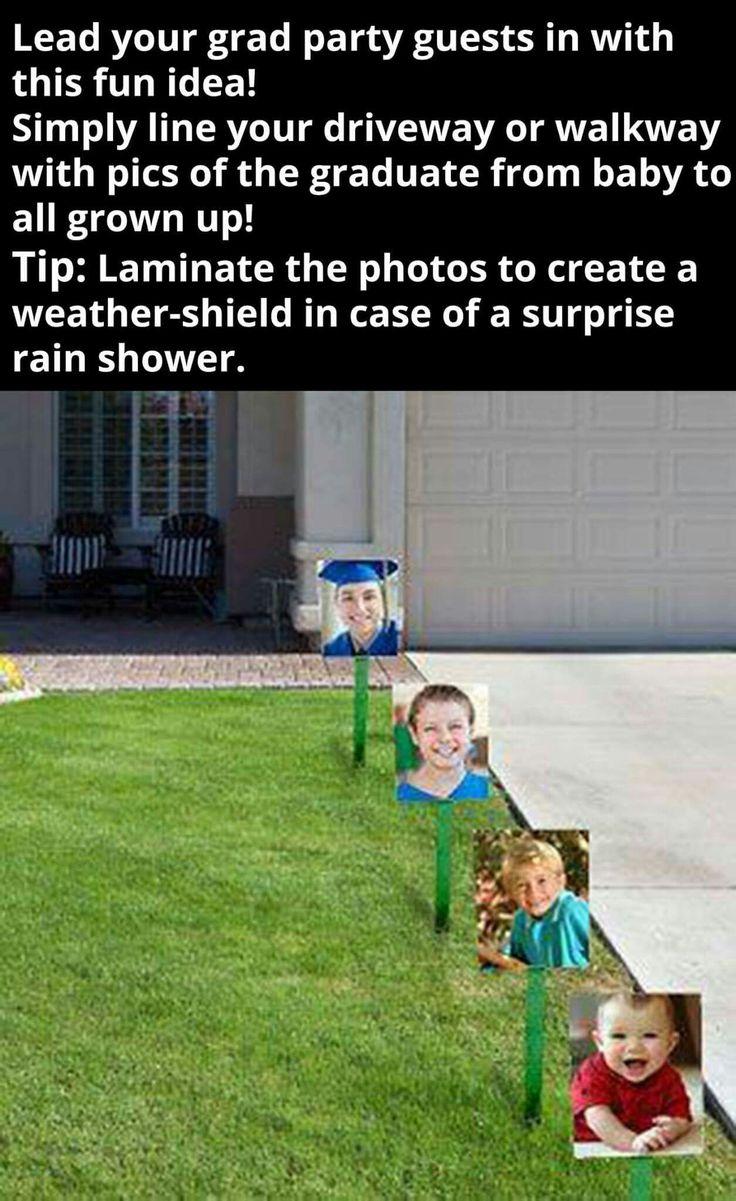 Graduation party idea