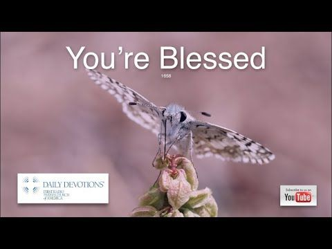1658 'You're Blessed' by Rev. Peter Panagore