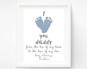 fathers day crafts for baby - Google Search