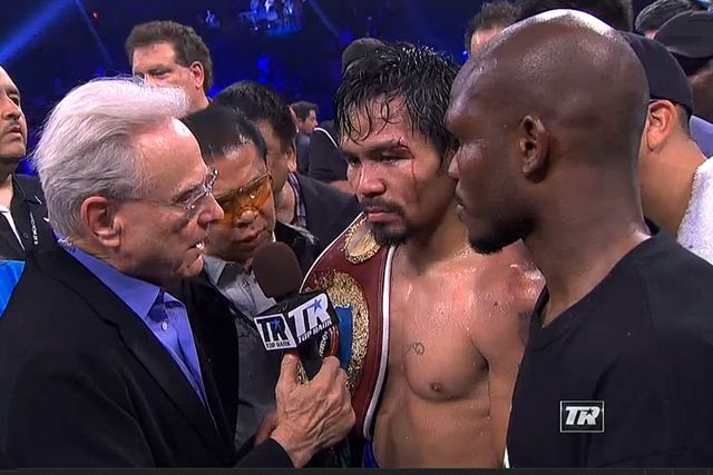 Boxing results: Manny Pacquiao wins rematch with Bradley | Communities Digital News