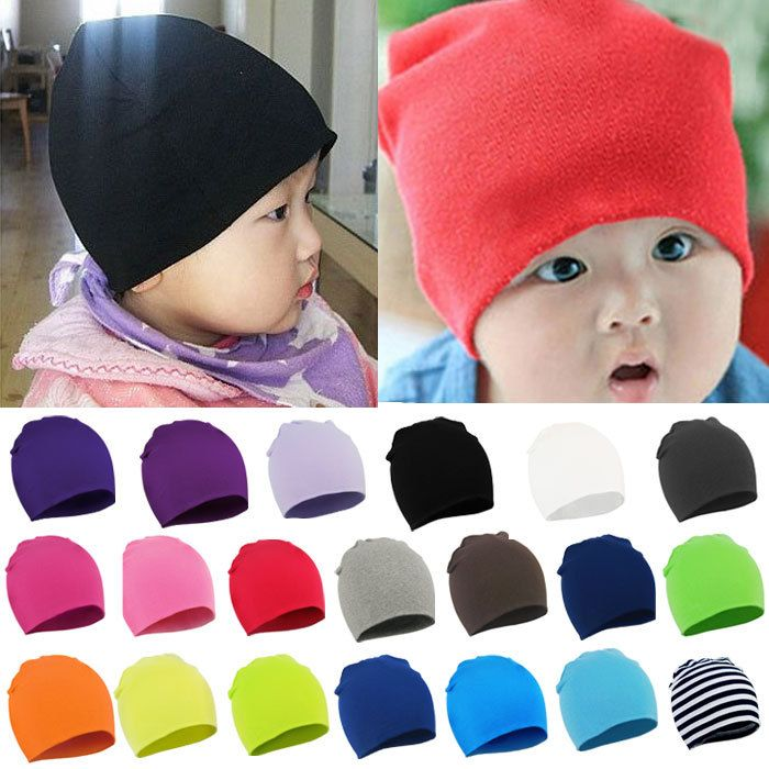 New Unisex Newborn Baby Boys Girl Toddler Infant Cotton Soft Cute Floral Hat Cap