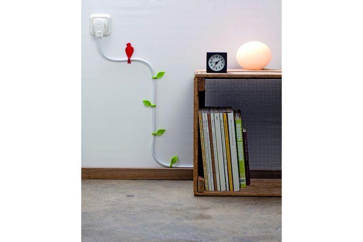 De Wirebloom van Monkey Business. De wireblooms helpen je de kabels om te toveren in een mooie natuurlijke omgeving. #huisdecoratie #cadeau