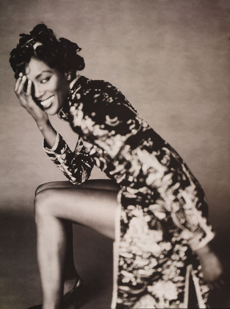 Naomi Campbell by Paolo Roversi for Vogue Italia September 1996
