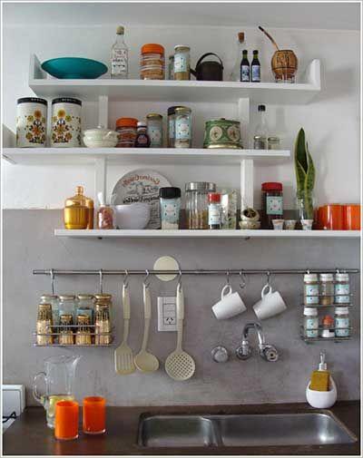Modelos De Prateleiras Para Cozinha Pequenas E Grandes