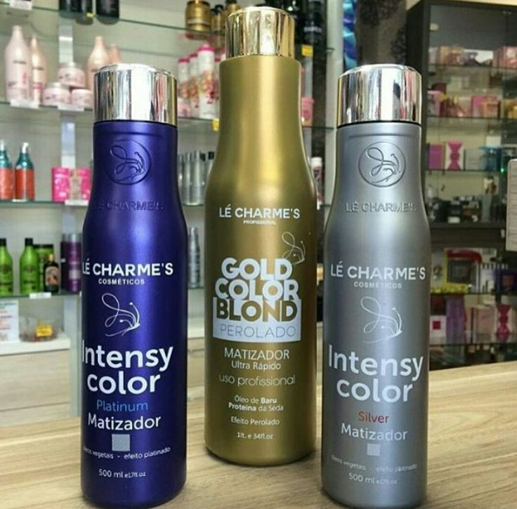 Lé Charme's - Intensy Color Platinum, Silver e Gold Color Blond - Matizadores