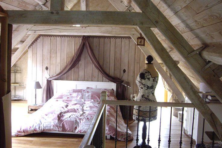 chambre romantique sous les combles