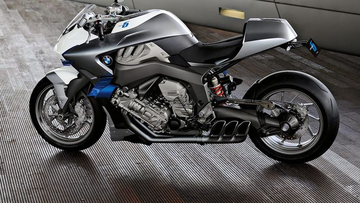 BMW trae de vuelta la moto de seis cilindros con su moto de concepto más caliente de todos los tiempos
