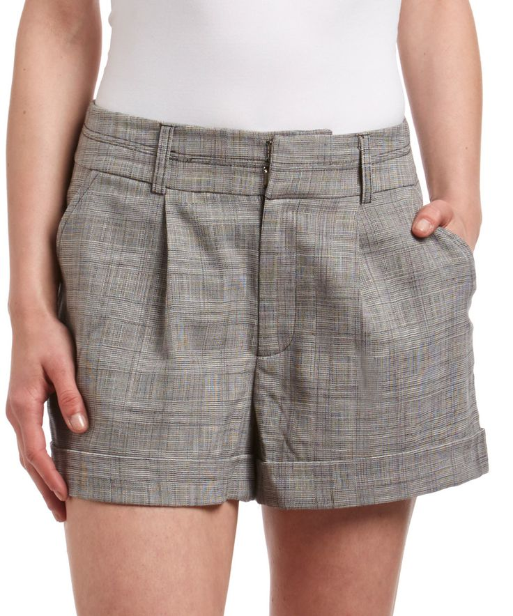 Look what I found on #zulily! Gray Variegated Stripe Shorts by Final Touch Collection #zulilyfinds