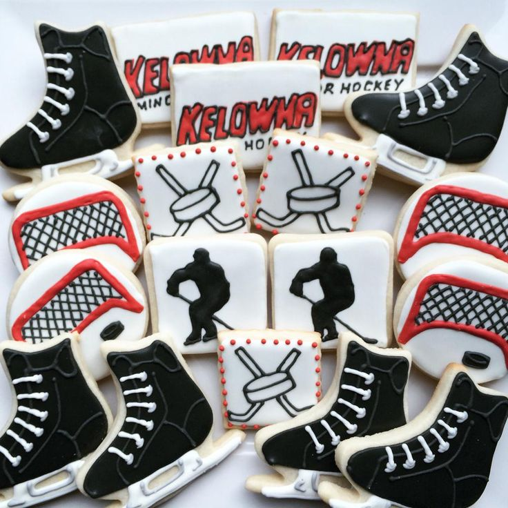 Hockey cookies | Cookie Connection