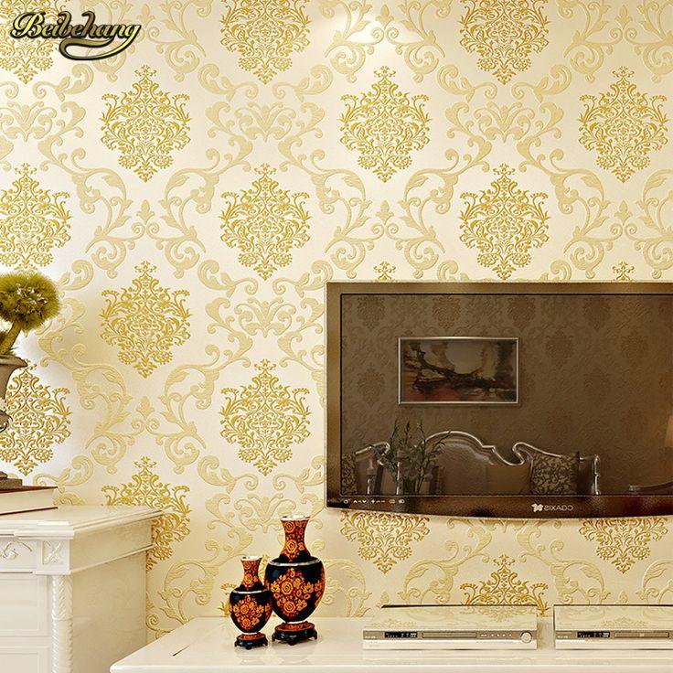 cheap beibehang dormitorio del papel de empapelar papel de parede no tejido tienda de saln sencilla