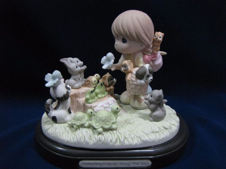 NEW! Precious Moments Singapore Thots Exclusive #169046 COLLECTING FRIENDS ALONG THE WAY