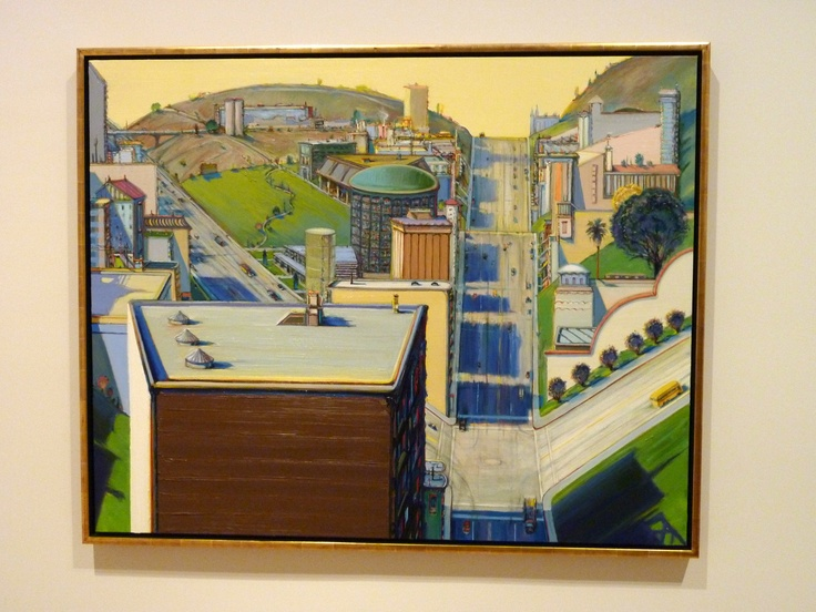 Wayne Thiebaud from the Fisher Collection