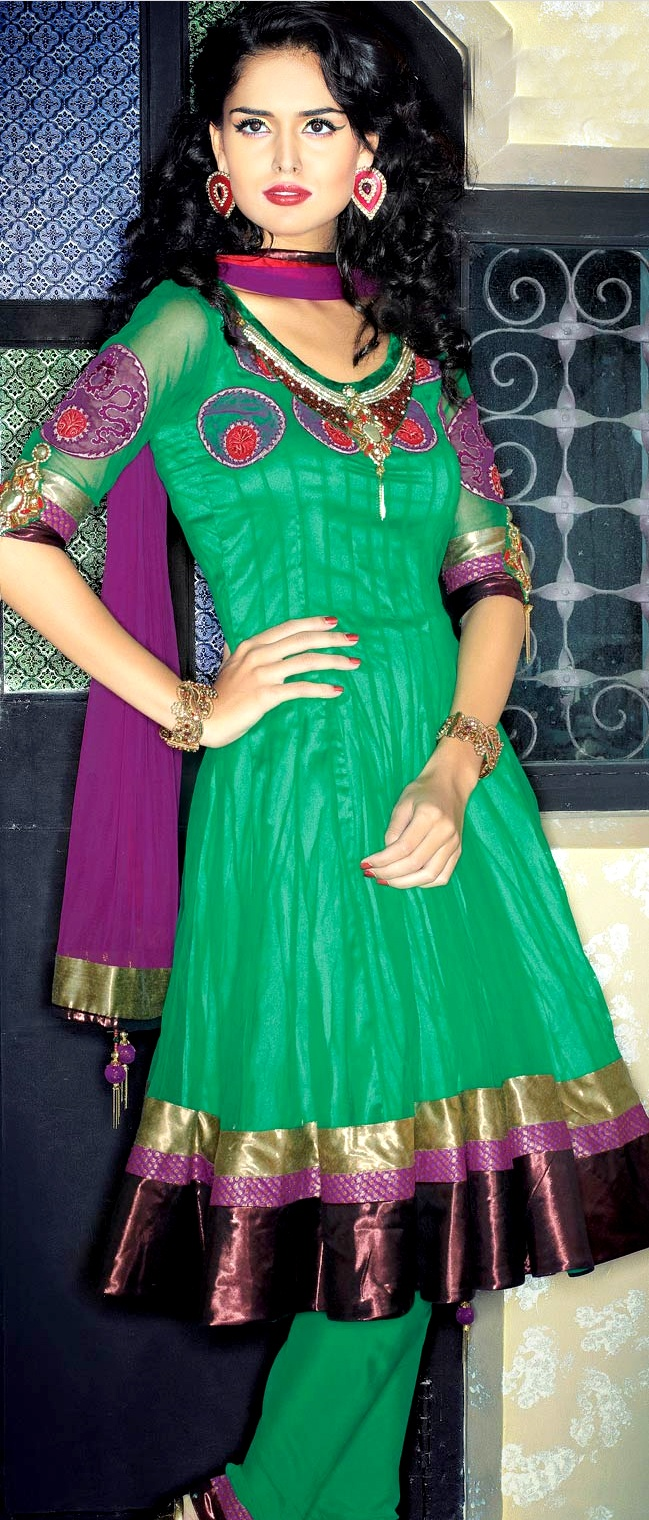 186 best Churidar images on Pinterest   India fashion, Indian suits ...