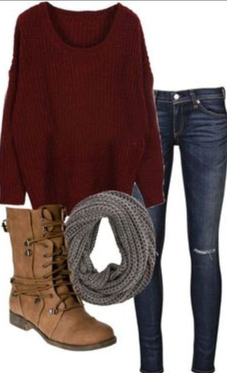 Those boots.. Love!!-- Fall outfit.