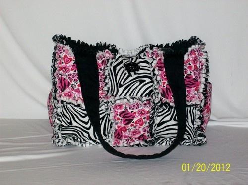 diaper bag! So cute!