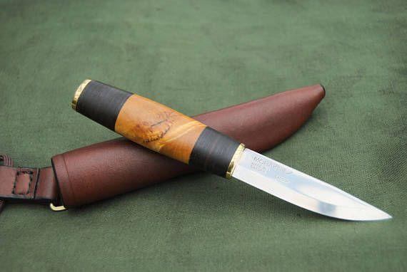 Mora Scandinavian Puukko Neck Carry Knife Custom Handmade Avec