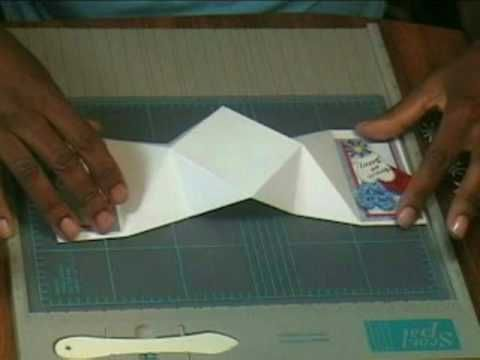 19 different ways to fold handmade cards - special card folds - YouTube