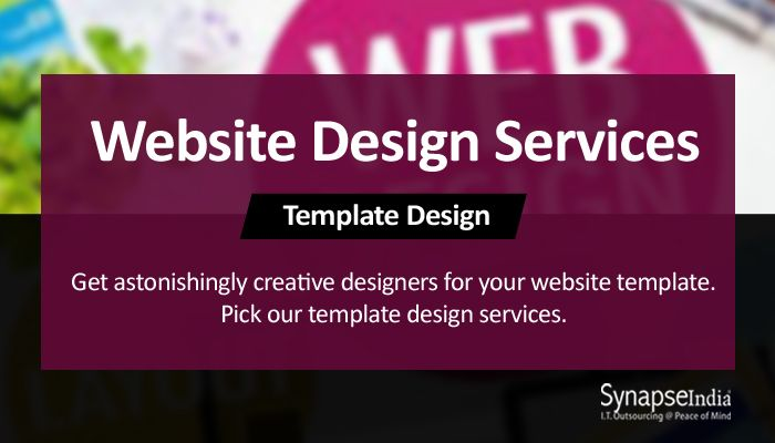 pin by synapseindia it outsourcing on website design company