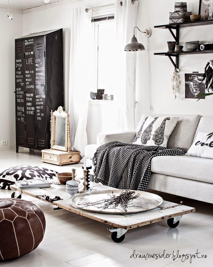 Salon pełen inspiracji❤️ piękny urządzony z dbałością o każdy szczegół ❤️ skandynawski styl wnętrza