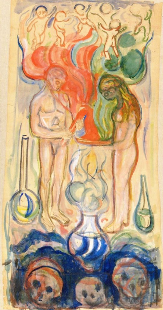 Chemistry (Edvard Munch - )