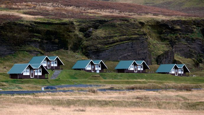 A general view of houses in the town of Vik in southern Iceland.(Reuters/ Ingolfur Juliusson) Iceland's government has announced that it will be writing off up to 24,000 euros ($32,600) of every household's mortgage, fulfilling its election promise, despite overwhelming criticism from international financial institutions