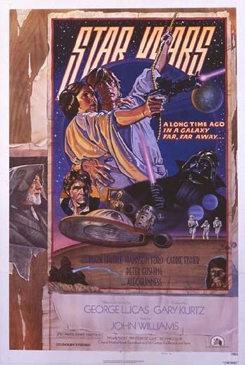 1977 Star Wars Original US Style D Film Poster. £750 at Vintage Seekers.