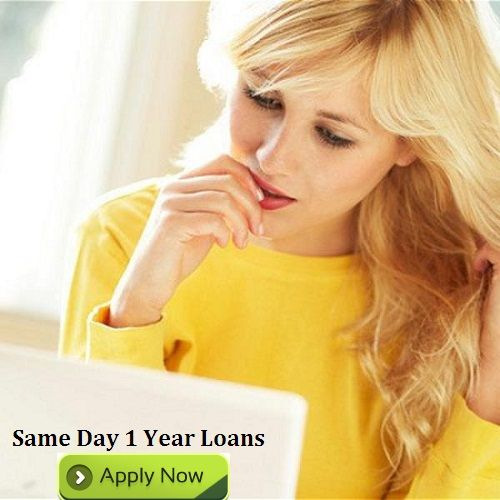 Same day 1 year loans are effective and convenient finance for loan seekers to solve unplanned monetary woes in small duration with easy refundable scheme. Read more..