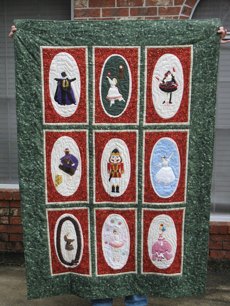 Nutcracker Ballet Quilt I Made For Lynette Quilts