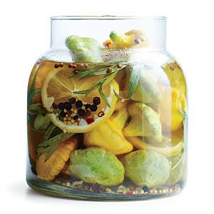 Pickled Baby Pattypan Squash | MyRecipes.com #myplate #vegetables