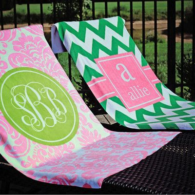 Cute, but pricy, monogrammed stuff!
