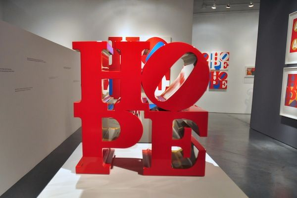 "Robert Indiana Fever Reaches Florida With ""HOPE"" Exhibition at Rosenbaum Contemporary"