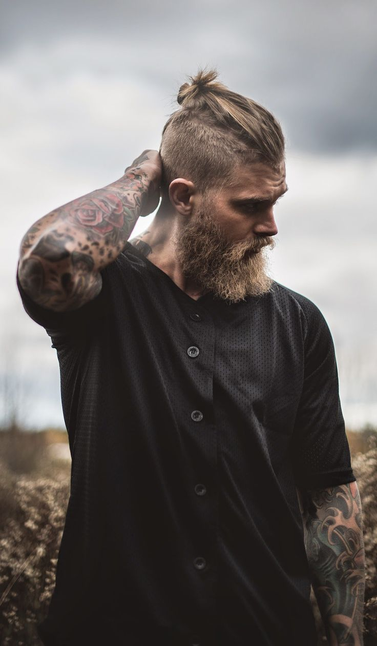 Is there really a man bun for short hair? Let us find out what men in short hair can do for a man bun urge!