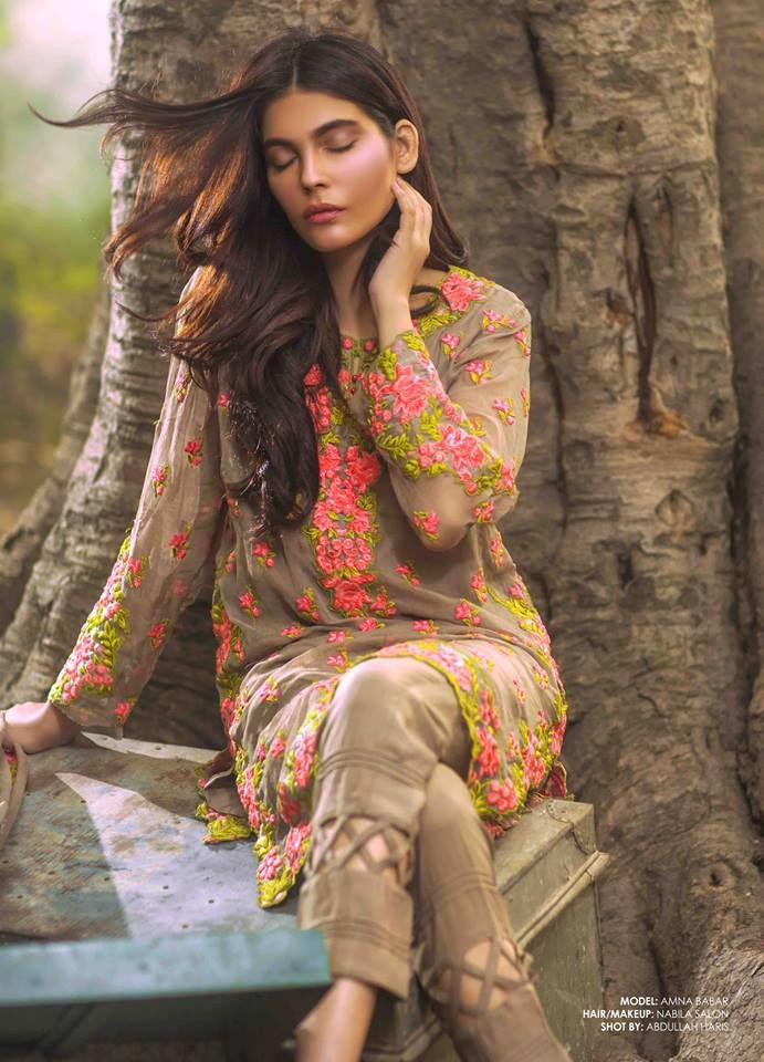 Shariq Textile & Mina Hassan Embroidered Winter Collection 2016