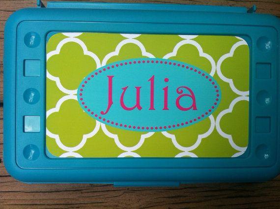 Personalized Pencil Box