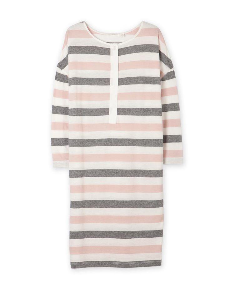 Jersey Stripe Nightie