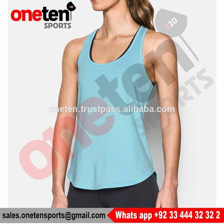 LADIES ATHLETIC VESTS TRAINING TANK TOP - Racer Back Tank Tops - Ladies Gym wear