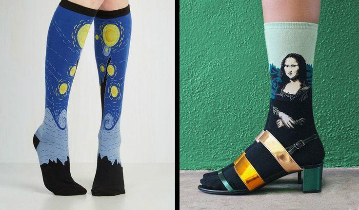 Tieto ponožky sú ideálnym tipom na darček (Foto: Amazon.com)