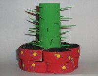 WC Rol Cactus Knutselen