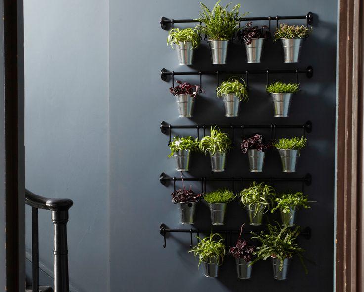 die besten 25 ideen zu t pfe aufh ngen auf pinterest t pfe in der k che aufh ngen h ngende. Black Bedroom Furniture Sets. Home Design Ideas