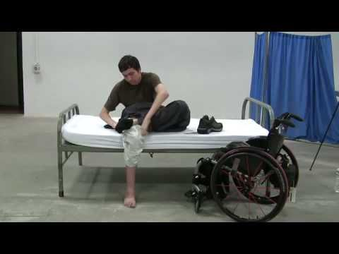 ▶ Quadriplegics: bed mobility and dressing - YouTube  See it. Believe it. Do it. Watch thousands of SCI videos at SPINALpedia.com